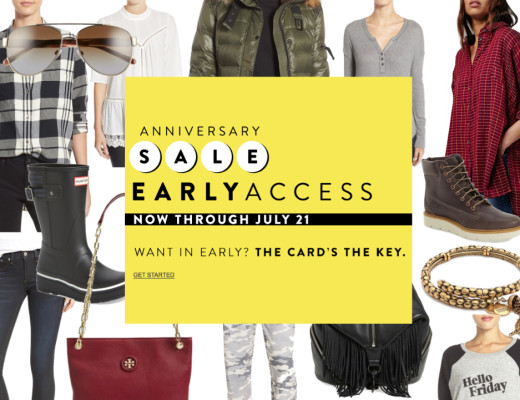 Nordstrom Anniversary Early Access Sale 1